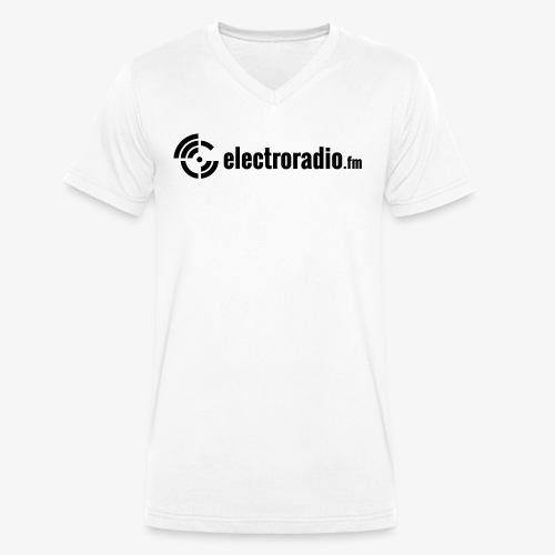 electroradio.fm - Männer Bio-T-Shirt mit V-Ausschnitt von Stanley & Stella