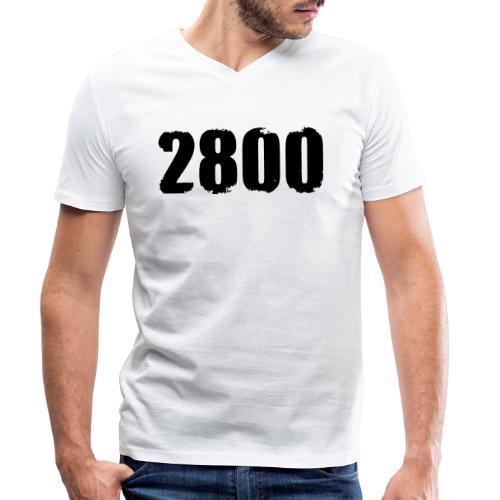 2800 - Mannen bio T-shirt met V-hals van Stanley & Stella