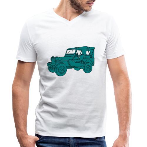 Geländewagen SUV 2 - Männer Bio-T-Shirt mit V-Ausschnitt von Stanley & Stella