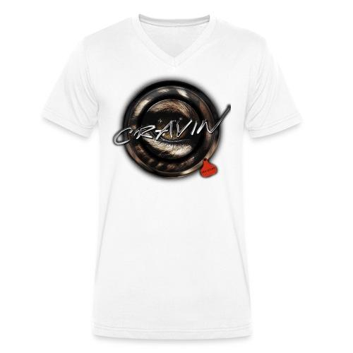 wildcat Kopie png - Men's Organic V-Neck T-Shirt by Stanley & Stella