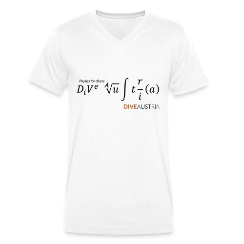 Physics for divers (DiveAustria) - Männer Bio-T-Shirt mit V-Ausschnitt von Stanley & Stella