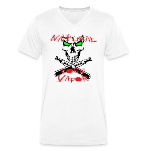 NBV - Männer Bio-T-Shirt mit V-Ausschnitt von Stanley & Stella
