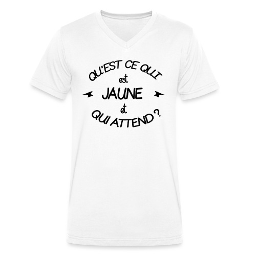 Edition Limitée Jonathan - T-shirt bio col V Stanley & Stella Homme