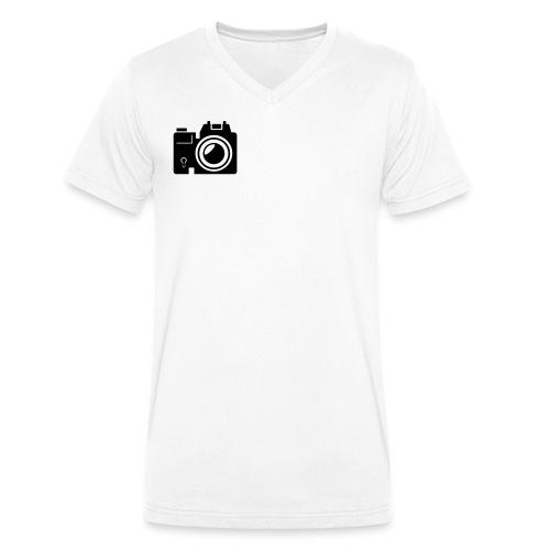 Mittelformat - Männer Bio-T-Shirt mit V-Ausschnitt von Stanley & Stella