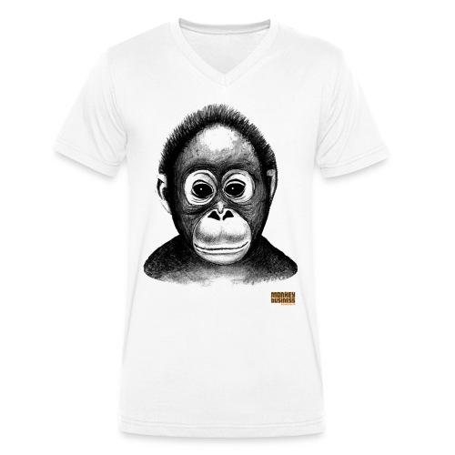Egbert Jan Weeber - Mannen bio T-shirt met V-hals van Stanley & Stella