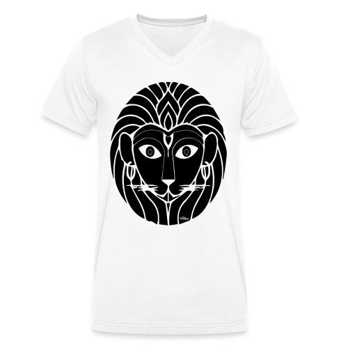 Narasimha T - Men's Organic V-Neck T-Shirt by Stanley & Stella