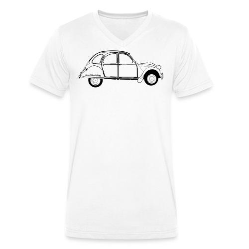 #frenchtouchshirt - T-shirt bio col V Stanley & Stella Homme
