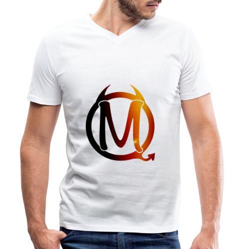 Logo colour - Männer Bio-T-Shirt mit V-Ausschnitt von Stanley & Stella