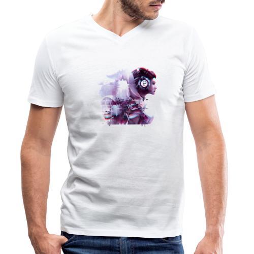 Pailygames6 - Männer Bio-T-Shirt mit V-Ausschnitt von Stanley & Stella