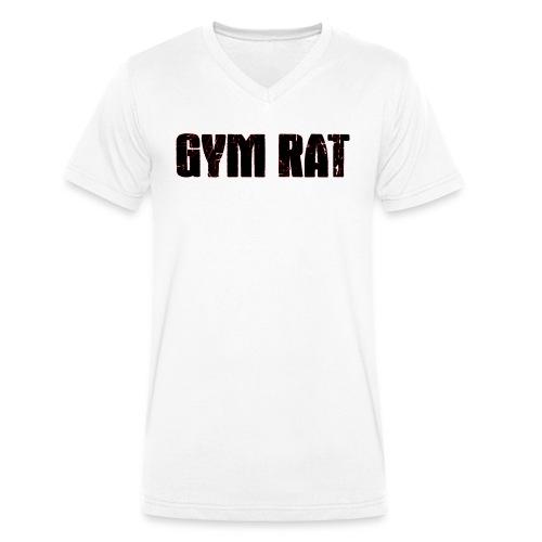 Gymrat - Ekologisk T-shirt med V-ringning herr från Stanley & Stella