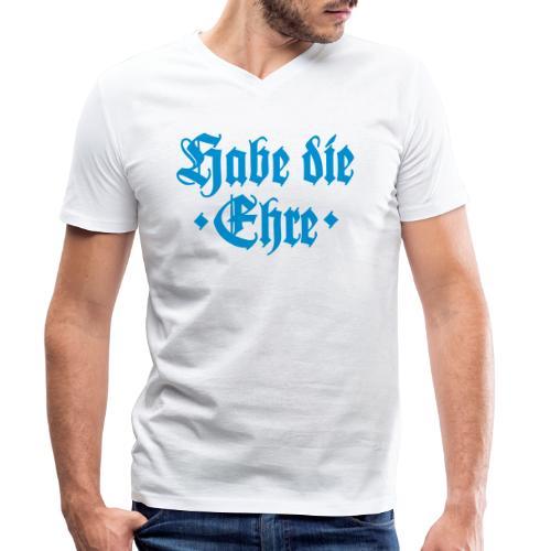 Habe die Ehre - Männer Bio-T-Shirt mit V-Ausschnitt von Stanley & Stella