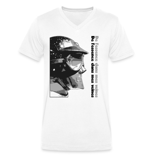 DLEDMV - Casque - T-shirt bio col V Stanley & Stella Homme