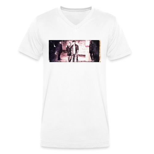 TSC grundge garage poster - Økologisk T-skjorte med V-hals for menn fra Stanley & Stella