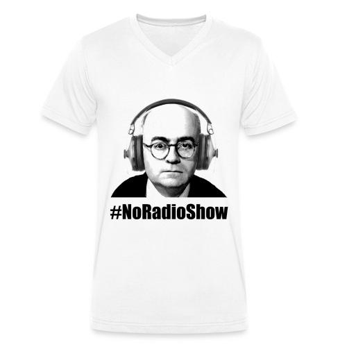 NoRadioPod - Männer Bio-T-Shirt mit V-Ausschnitt von Stanley & Stella