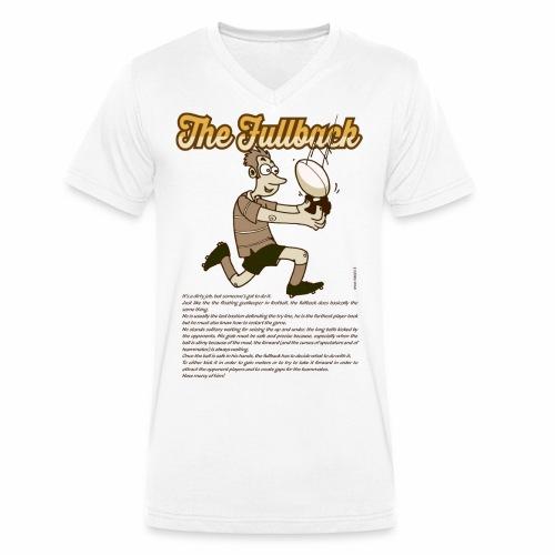 Fullback_Marplo - T-shirt ecologica da uomo con scollo a V di Stanley & Stella