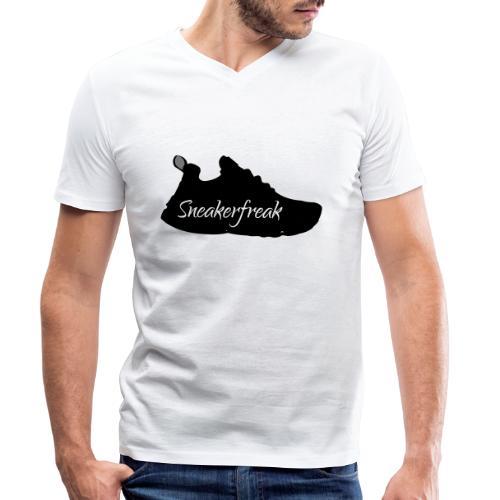 Sneakerfreak sw/ws - Männer Bio-T-Shirt mit V-Ausschnitt von Stanley & Stella