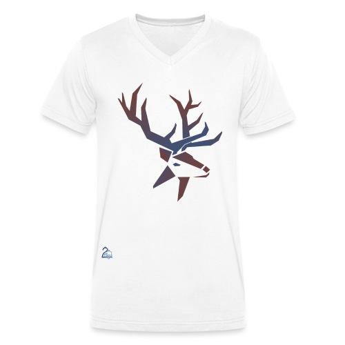 logo transparent png - Männer Bio-T-Shirt mit V-Ausschnitt von Stanley & Stella
