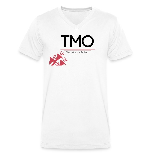 TMO Logo - Men's Organic V-Neck T-Shirt by Stanley & Stella