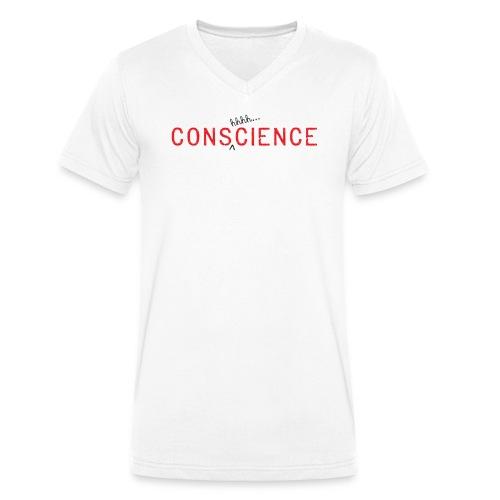 TeeSpread1-Consh-01 - Men's Organic V-Neck T-Shirt by Stanley & Stella