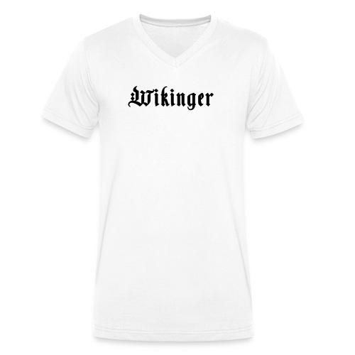 Wikinger - Männer Bio-T-Shirt mit V-Ausschnitt von Stanley & Stella