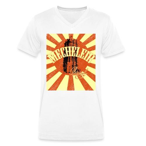 MecheleirOriginal5a - Mannen bio T-shirt met V-hals van Stanley & Stella