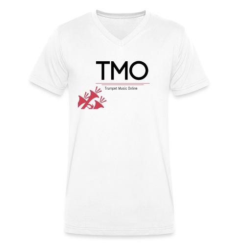 TMO Logo - Men's Organic V-Neck T-Shirt by Stanley & Stella