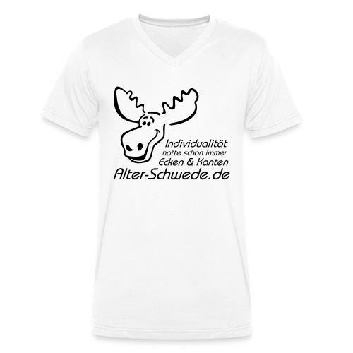 Individualität - Männer Bio-T-Shirt mit V-Ausschnitt von Stanley & Stella