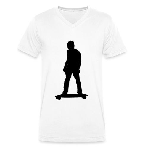 20160128 0015 - Camiseta ecológica hombre con cuello de pico de Stanley & Stella