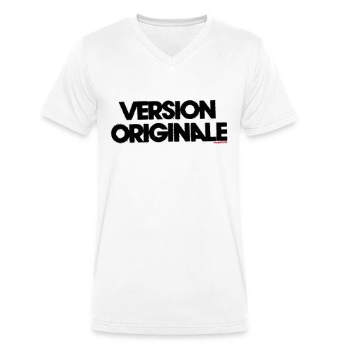 Version Original - T-shirt bio col V Stanley & Stella Homme