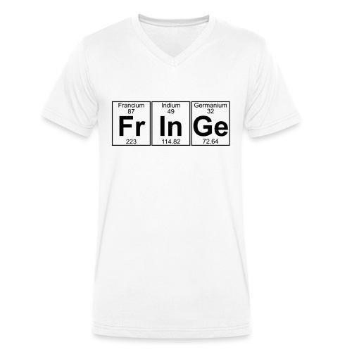 Fr-In-Ge (fringe) - Full - Men's Organic V-Neck T-Shirt by Stanley & Stella