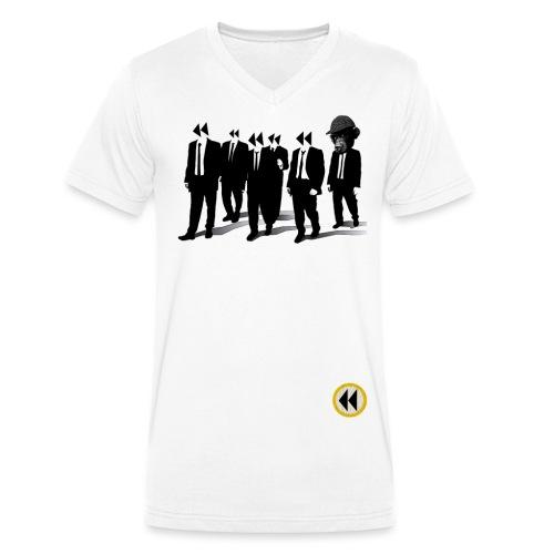 once affen - Männer Bio-T-Shirt mit V-Ausschnitt von Stanley & Stella