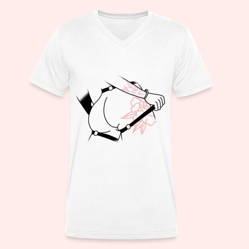 Butt - Männer Bio-T-Shirt mit V-Ausschnitt von Stanley & Stella