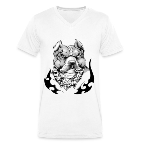 street pitt - T-shirt bio col V Stanley & Stella Homme