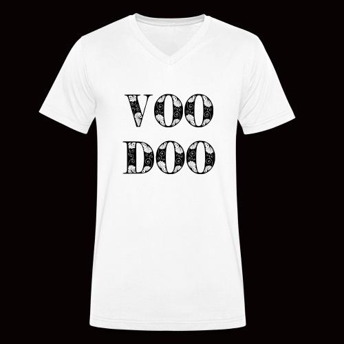 VoodooBrand T-Shirt - Men's Organic V-Neck T-Shirt by Stanley & Stella