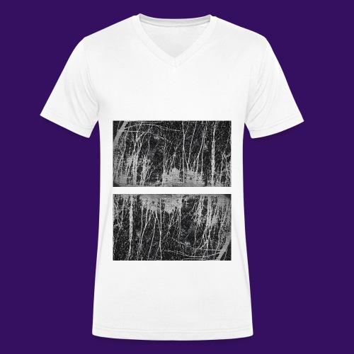 Düsterwald - Männer Bio-T-Shirt mit V-Ausschnitt von Stanley & Stella