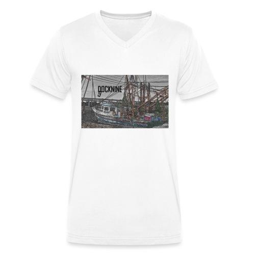BOAT DOCKNINE - Männer Bio-T-Shirt mit V-Ausschnitt von Stanley & Stella