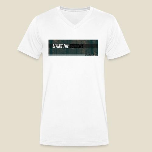 GOODLIFE - Männer Bio-T-Shirt mit V-Ausschnitt von Stanley & Stella