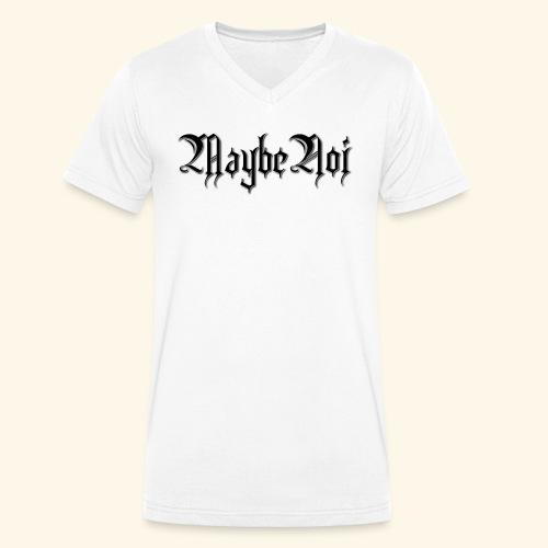 MaybeNoi Design - Männer Bio-T-Shirt mit V-Ausschnitt von Stanley & Stella