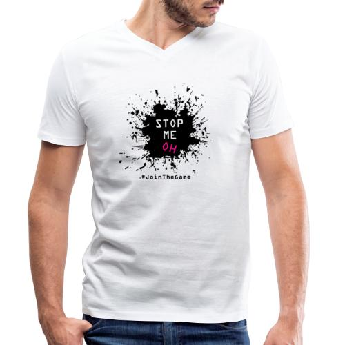 Stop me oh - Men's Organic V-Neck T-Shirt by Stanley & Stella