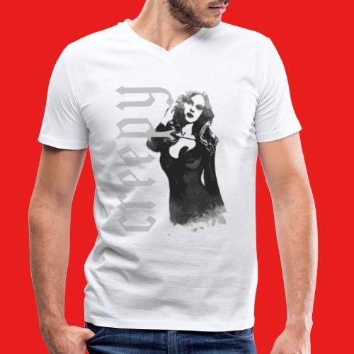Fashion sexy creepy Pin Up Girl 2reborn - Männer Bio-T-Shirt mit V-Ausschnitt von Stanley & Stella