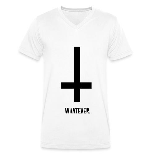 Whatever Sunny. - Männer Bio-T-Shirt mit V-Ausschnitt von Stanley & Stella