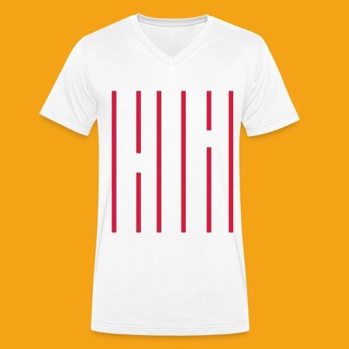 skrvklines - Ekologisk T-shirt med V-ringning herr från Stanley & Stella
