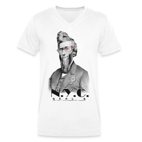 Reuben Eaton Fenton - T-shirt bio col V Stanley & Stella Homme