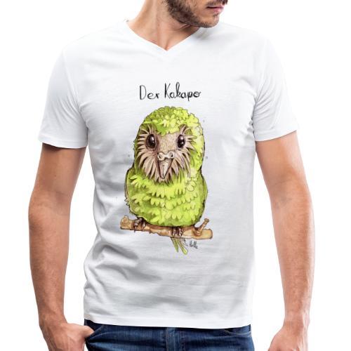 Kakapo - Männer Bio-T-Shirt mit V-Ausschnitt von Stanley & Stella