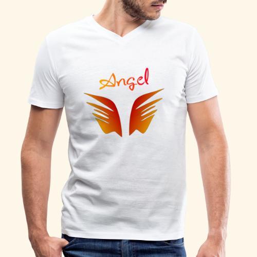 Angel - Männer Bio-T-Shirt mit V-Ausschnitt von Stanley & Stella