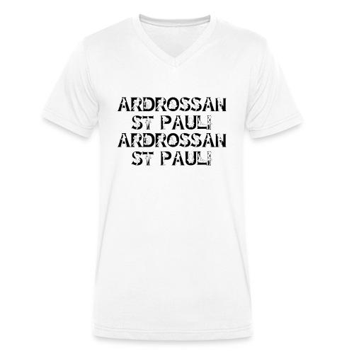 Ardrossan St.Pauli - Men's Organic V-Neck T-Shirt by Stanley & Stella