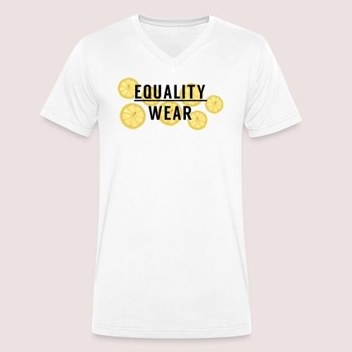 Equality Wear Fresh Lemon Edition - Men's Organic V-Neck T-Shirt by Stanley & Stella