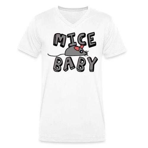 mice mice baby - ice ice baby - Männer Bio-T-Shirt mit V-Ausschnitt von Stanley & Stella