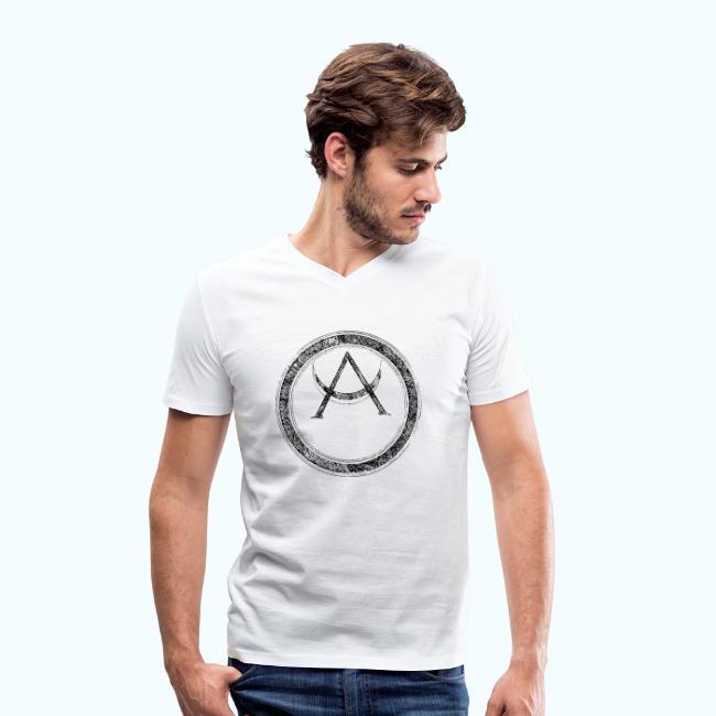 Mystic motif with sun and circle geometric