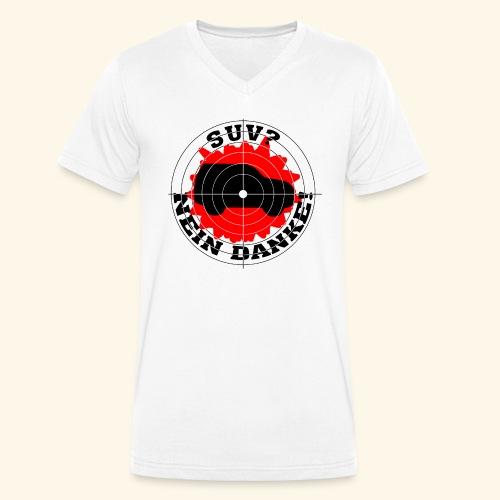 SUV? Nein danke! - Männer Bio-T-Shirt mit V-Ausschnitt von Stanley & Stella